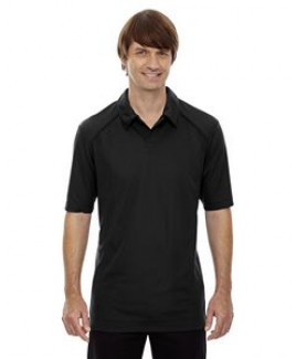 NORTH END SPORT RED Men's Recycled Polyester Performance Piqué Polo