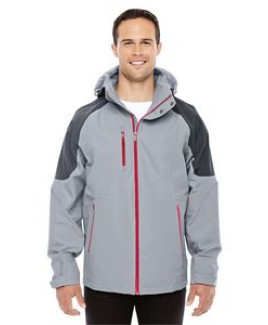 NORTH END SPORT RED Men's Impulse Interactive Seam-Sealed Shell
