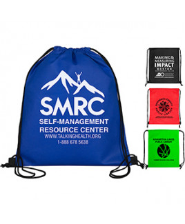 """""""Economy"""" Drawstring Cinch Pack Backpack (Overseas)"""