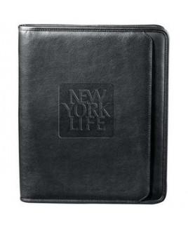 Manhattan Zippered Padfolio