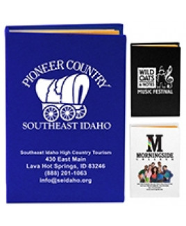 """""""Atherton"""" Compact Sticky Notes & Flags Notepad Notebook (Overseas)"""