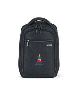 Samsonite Modern Utility Small Computer Backpack - Charcoal Heather-Charcoal