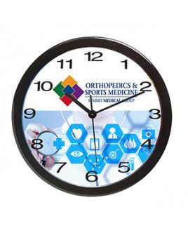 """""""Bezel"""" 12"""" Economy Oversized Wall Clock"""