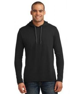 Anvil® Men's 100% Combed Ring Spun Cotton Long Sleeve Hooded T-Shirt
