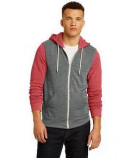Alternative® Men's Colorblock Rocky Eco™-Fleece Zip Hoodie