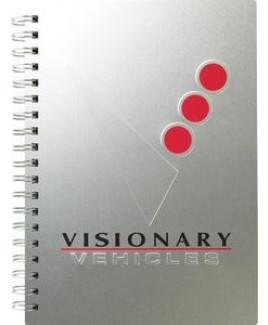 "AlloyJournal™ Medium NoteBook (7""x10"")"