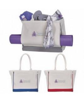 Atchison® Yoga Retreat Cotton Tote Bag