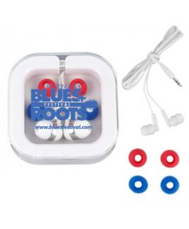 """""""Stow-n-Go"""" Ear Bud Headphone Travel Set (Overseas)"""