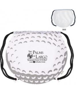 GameTime!® Golf Ball Drawstring Backpack Bag