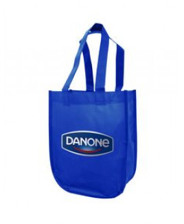 Non-woven Laminated retail tote with heat transfer logo