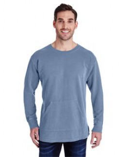 Comfort Colors Adult French Terry Crew With Pocket