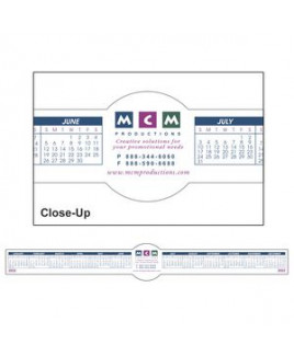 Circle Removable Adhesive Computer Calendar