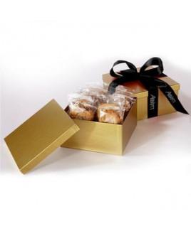 2 Dozen Cookies in Box w/ Printed Ribbon