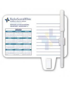 Calendar / Memo Magnet with Clip
