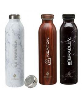 Manna 20 oz. Retro Stainless Steel Water Bottle