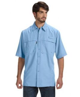DRI DUCK Men's 100% Polyester Short-Sleeve Fishing Shirt