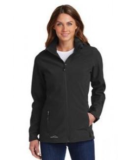 Eddie Bauer® Ladies' Hooded Soft Shell Parka Jacket