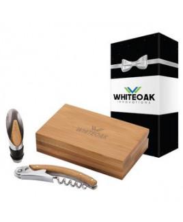 Bel Vino 2 Piece Wine Set & Packaging