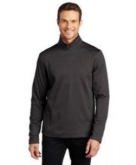 Port Authority® Men's Diamond Heather Fleece 1/4-Zip Pullover Sweater