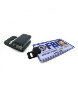 Government Clip for Identification Cards without Slots / Holes