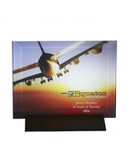 Epoch Horizontal Large Glass Award