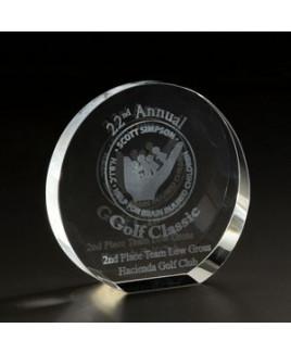 3D Circle Small Award