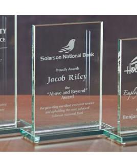 Glass Rectangle - Medium Award