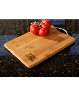 Bamboo Cutting Board with Handle