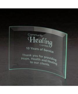 Chronicle Jade Small Glass Award