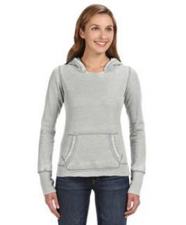 J AMERICA Ladies' Zen Pullover Fleece Hood