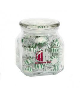 Striped Spearmints in Med Glass Jar