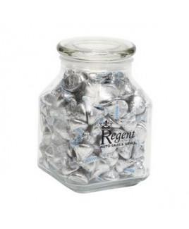 Hersheys® Kisses® in Lg Glass Jar