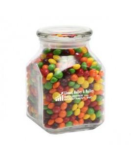 Skittles® in Lg Glass Jar