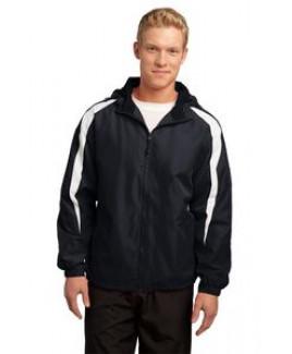 Sport-Tek® Men's Fleece-Lined Colorblock Jacket