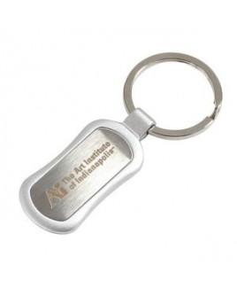 Oval Metal Keytag