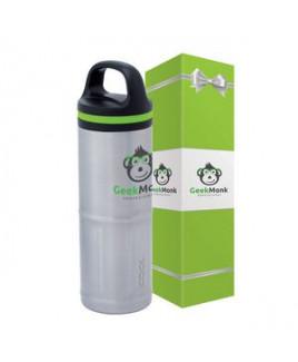 iCOOL Odin 20 oz. Stainless Steel Vacuum Water Bottle & Packaging