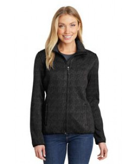 Port Authority® Ladies' Sweater Fleece Jacket