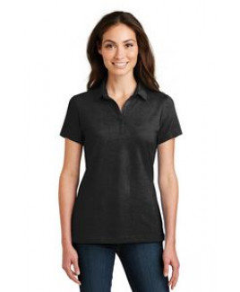 Port Authority® Ladies' Meridian Cotton Blend Polo Shirt