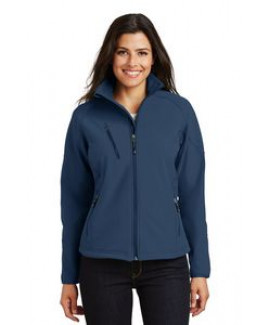 Port Authority® Ladies' Textured Soft Shell Jacket