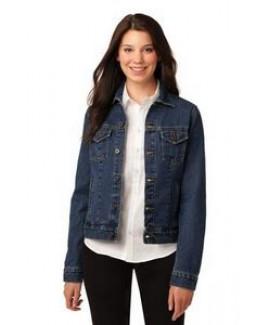Port Authority® Ladies' Denim Jacket