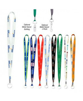 """Full Color Imprint Smooth Dye-Sublimation Lanyard - 3/4"""""""
