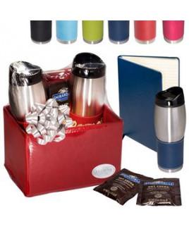Tuscany™ Tumblers & Journal with Ghirardelli® Cocoa Set
