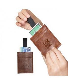Sorrento™ RFID Wallet w/Pull Tab