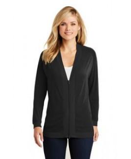 Port Authority® Ladies' Concept Bomber Cardigan Sweater