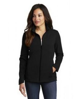 OGIO® Ladies' Exaction Soft Shell Jacket