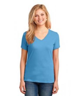 Port & Company® Ladies' Core Cotton V-Neck T-Shirt