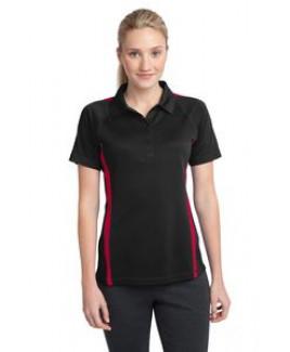 Sport-Tek® Ladies' PosiCharge® Micro-Mesh Colorblock Polo Shirt