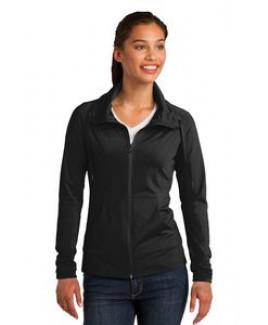 Sport-Tek® Ladies' Sport-Wick® Stretch Full-Zip Jacket