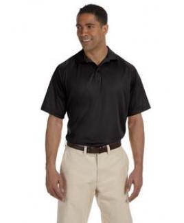 Harriton Men's 3.8 oz. Polytech Mesh Insert Polo