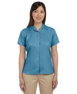 Harriton Ladies' Bahama Cord CampShirt